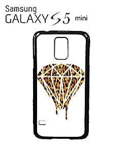 Leopard Dripping Diamond Dope Mobile Cell Phone Case Samsung Galaxy S5 Mini Black
