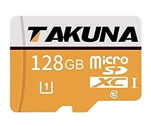 TAKUNA - Tarjeta de memoria Micro SD SDXC (128 GB, adaptador de ...