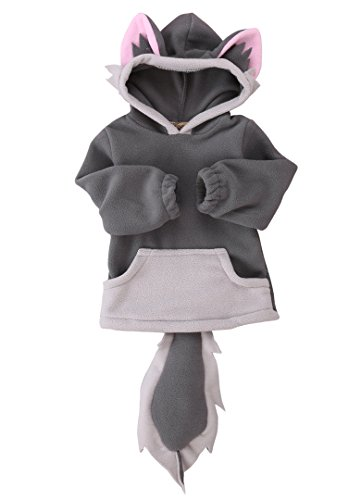 Baby Kids Boys Girls Cute Fox Cloak Hooded Outfits Hoodie Coat Outwear -