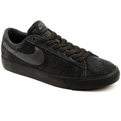 (Nike SB Blazer Low Skateboarding Shoe, Black/Anthracite, Size 5.5)