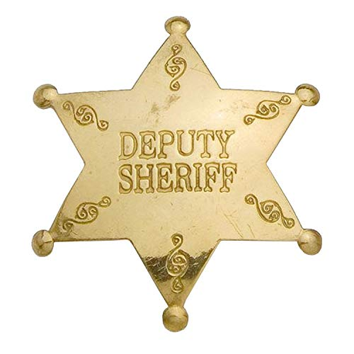 Deputy Sheriff Western Replica Badge - ()
