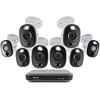 Swann 8-Channel, 8-Camera Wired 4K UHD 2TB DVR Surveillance System