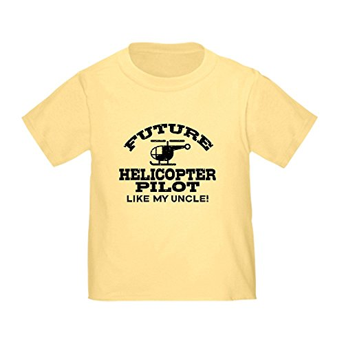 Pilot Helicopter Future - CafePress - Future Helicopter Pilot Like My Uncle Toddler T-Sh - Cute Toddler T-Shirt, 100% Cotton