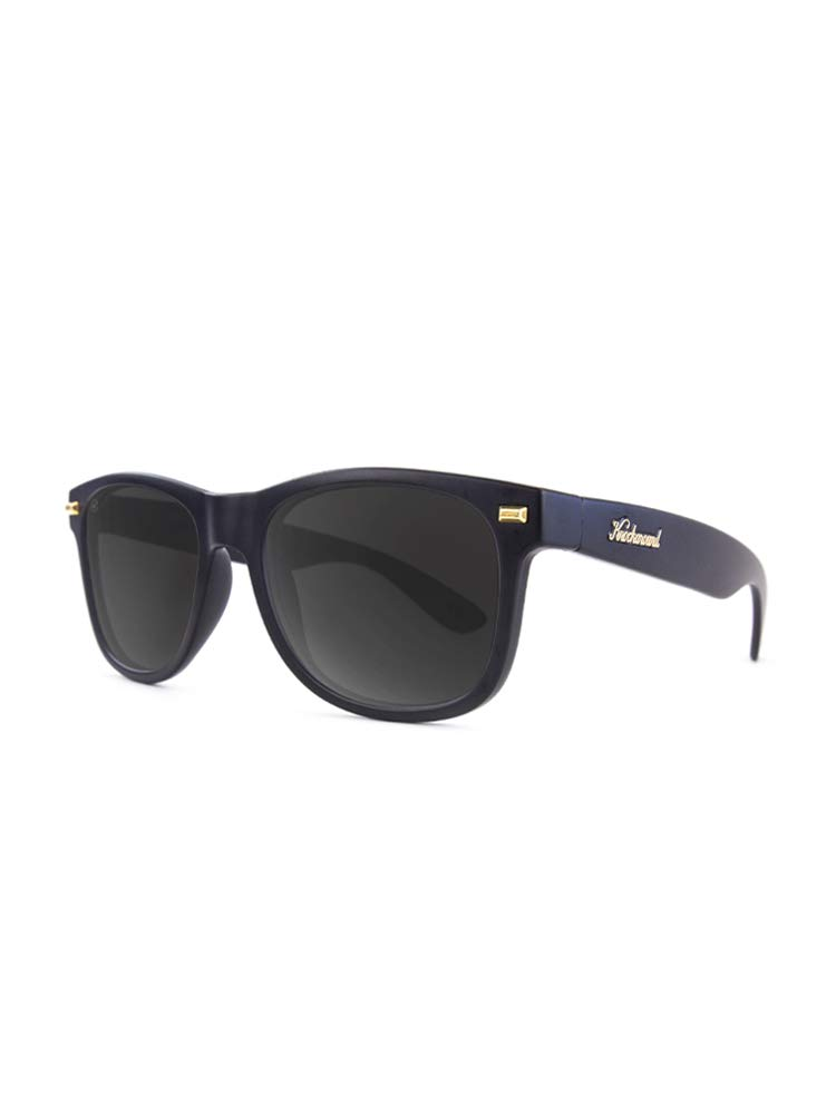 Knockaround Fort Knocks Polarized Sunglasses, Matte Black/Smoke