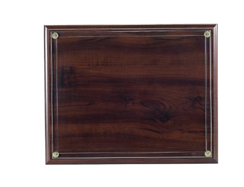 Certificate Plaque Board with Slide in Plexi Glass, Walnut Finished by Awards and Gifts R Us (Image #3)
