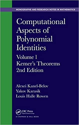 Computational Aspects of Polynomial Identities: Volume l