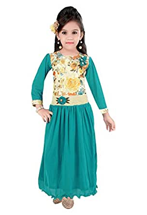 Pinky baby Special Occasion Layered Dress For Girls