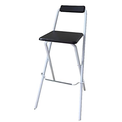 Amazing Amazon Com Bar Stool Folding Chair High Stool Folding Steel Spiritservingveterans Wood Chair Design Ideas Spiritservingveteransorg