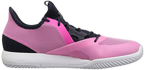 adidas Women's Adizero Defiant Bounce Tennis Shoe Legend Ink/Shock Pink/White 6 M US by adidas (Image #6)