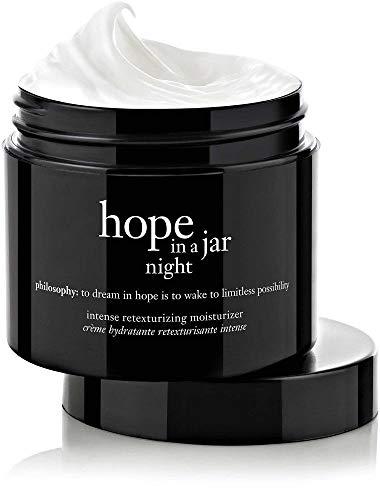 Hope in a Jar Night Intense Retexturizing Moisturizer 8 Oz by Philosophy (Philosophy Hope In A Jar Night Cream)