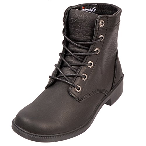 KODIAK Waterproof Acadia Seam Sealed Leather Combat Ankle Boot Black Size 9.5 - Leather Waterproof Combat Boots