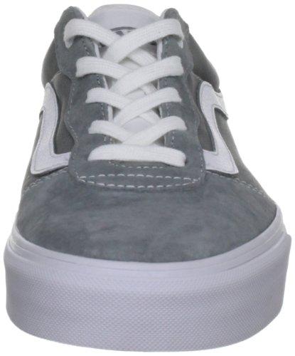 Vans M MILTON (SUEDE) MID GRE VOYY7QM - Zapatillas de cuero para hombre, color gris, talla 41