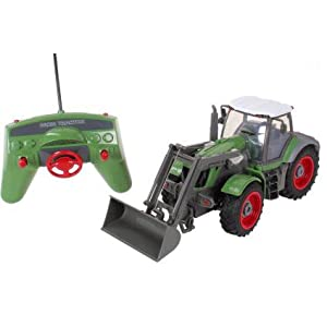 5 Channel Full Function Radio Control RC Big Farm Tractor with Front Loader (1:28 Scale) - 41kVrSiL1FL - 5 Channel Full Function Radio Control RC Big Farm Tractor with Front Loader (1:28 Scale)