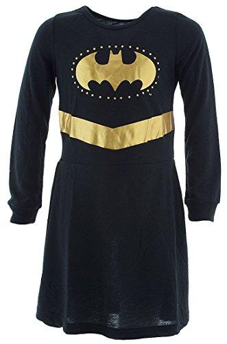 Halloween Costumes Roller Derby Girl (DC Comics Toddler 'Batman Batgirl Princess' Costume Pajama, Black)