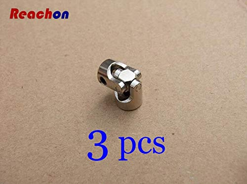 3pcs Metal Universal Joints Coupling Shaft Connector for RC Car Boat Model 2mm 2.3mm 3mm 3.175mm 4mm 5mm 6mm 8mm 10mm   2mm to 2dot3mm