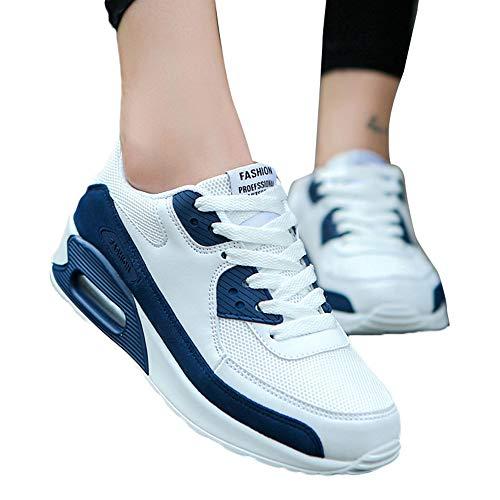 Running Blu Da Sportive Non slip Multisport Shoes Sneakers Sports Stringate Ginnastica Antiscivolo Uomo Corsa Outdoor Scarpe Casual Oyedens E7wqTHU