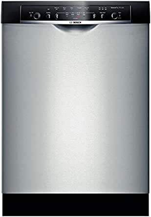 "Bosch SHE3AR55UC Ascenta 24"" Stainless Steel Full Console Dishwasher - Energy Star"