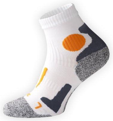 haute performance pointe remaill/ée main Vincent Creation VCA rembourr/ée et /élastiqu/ée Lot de 2 paires de chaussettes de course /à pied