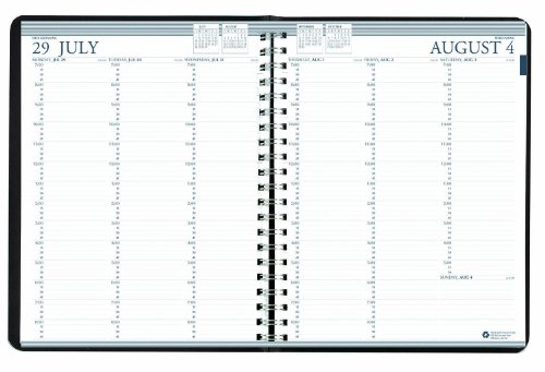 House of Doolittle Professional Academic Weekly Planner, 12 Months, August 2014-July 2015, 8.5 x 11 Inches , A Vertical Weekly Format, Recycled Made in the USA (HOD257202) (Planner Academic Weekly Professional)