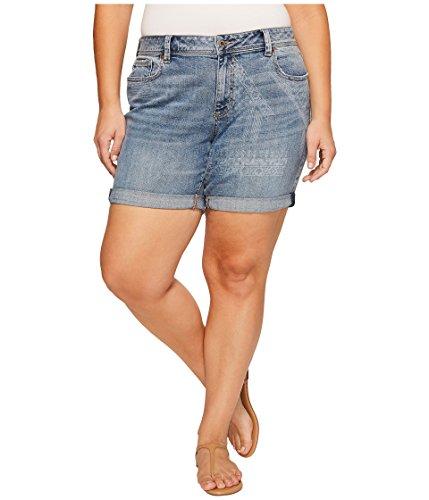 傷つきやすい惨めな被害者[ラッキーブランド] Lucky Brand レディース Plus Size Georgia Roll Up Shorts パンツ Wichita Falls 20W [並行輸入品]