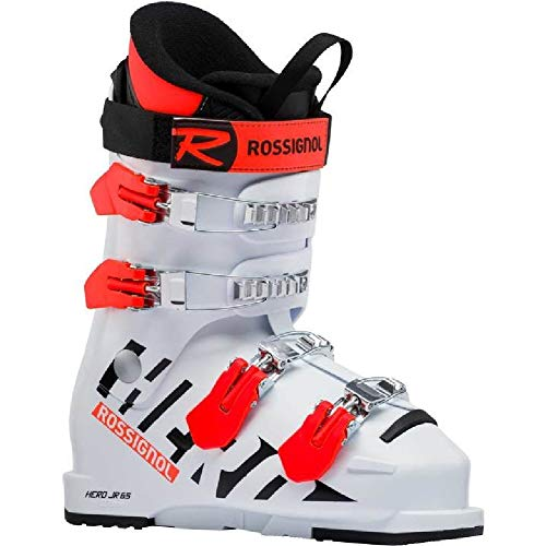 - Rossignol Kids' Hero Jr 65 Ski Boots - White - 22.5