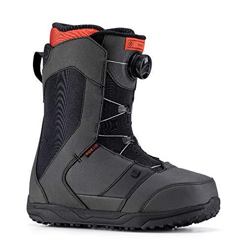 Ride Mens Snowboard Boots - Ride Men's Rook Snowboard Boots - Black - 10.5