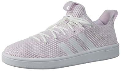 adidas Women's CF ADV Adapt W, White/aero Pink, 5 M US