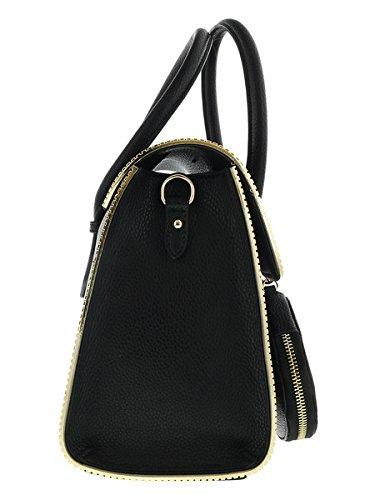 Versace Jeans E1vqbbh6_75426 Borse Da Donna In Pelle Nera