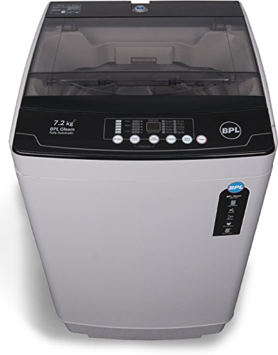 BPL 7.2 kg Fully-Automatic Top Loading Washing Machine (BFATL72N1, Grey)