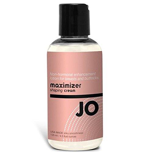 Lotion d'amélioration Système Jo Maximizer Shaping Cream non-hormonal du cancer du sein et des fesses: Taille 135 Ml.