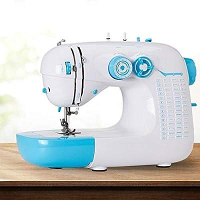 Hogar y Cocina Máquinas de Coser Máquinas de coser 42 puntadas multifunción comer grueso 8 capas de tela eléctrica mini máquina de coser patchwork ropa manualidades y máquinas de coser de viaje