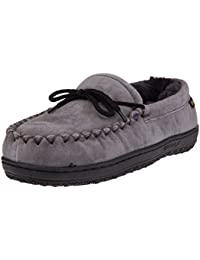 f2101d532e7 Amazon.com  Grey - Slippers   Shoes  Clothing