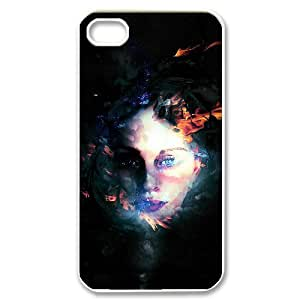 Ghost Original New Print DIY Phone Case for Iphone 4,4S,personalized case cover ygtg547304 by lolosakes