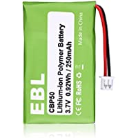 EBL CBP50 Battery for Plantronics CS-50, CS50-USB, CS-55, CS-60, 64327-01, 64399-01, 65358-01, HL10, PL-64399-01