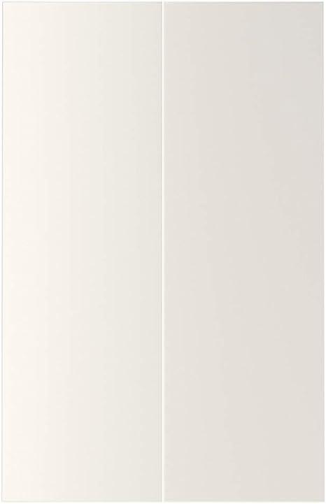 VEDDINGE - Juego de armarios de esquina para puerta, 2 puertas, color blanco: Amazon.es: Bricolaje y herramientas