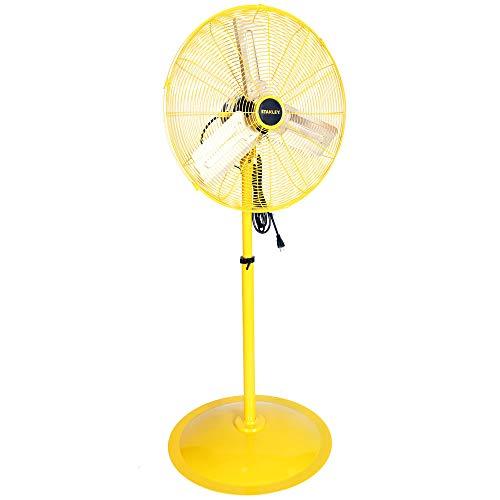 - STANLEY ST-24POSC High Velocity Oscillating Pedestal Fan 24