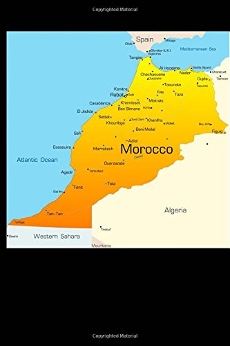 Download Map of Morocco Journal: 150 page lined notebook/diary ebook