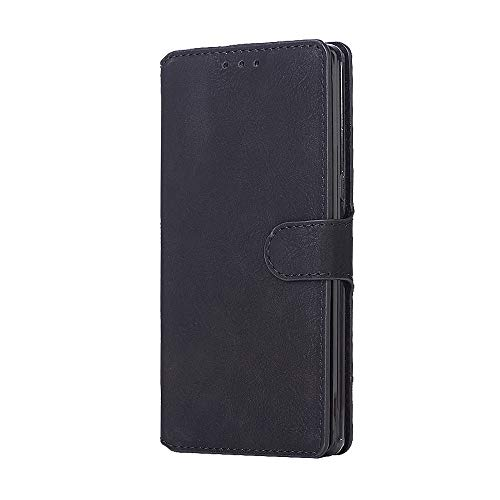 ung Galaxy Note 8,Slim 2 in 1 PU Leather Flip Protective Cover with Card Slots for Note 8 (Black, Samsung Galaxy Note 8) ()