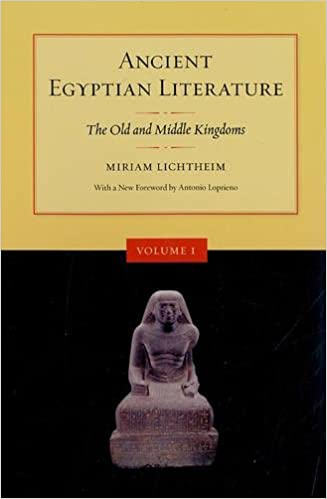 Amazon ancient egyptian literature volume i the old and ancient egyptian literature volume i the old and middle kingdoms first edition fandeluxe Gallery