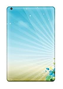 Ipad Mini/mini 2 Beautiful Xmas Tree Print High Quality Tpu Gel Frame Case Cover