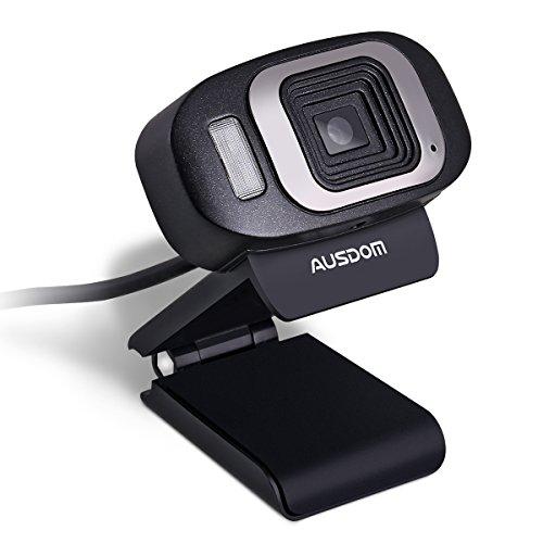 AUSDOM Webcam 1080 HD Camera,Desktop or Laptop Webcam for Video Calling and Recording - Mac Webcam 1080