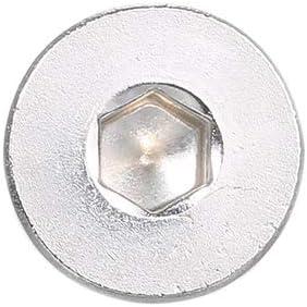 Festnight DIN7991 304 Tornillos Allen Tornillos hexagonales de acero inoxidable Tornillo hexagonal M6 8