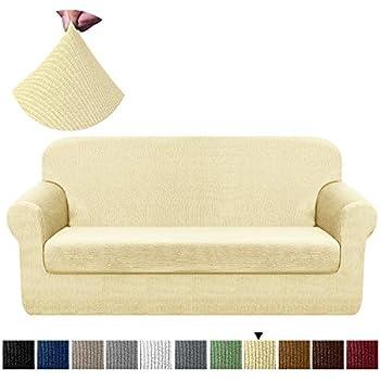 Amazon.com: Chelzen Fundas de sofá elásticas para sala de ...
