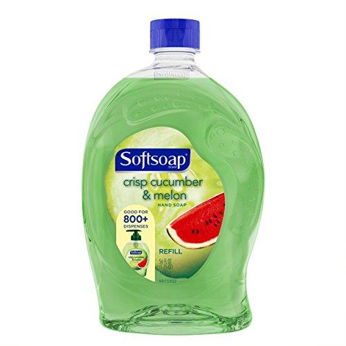 Softsoap Liquid Hand Soap Refill, Crisp Cucumber and Melon, 56 (Nice Crisp)