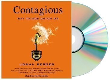 CONTAGIOUS Audiobook:Contagious: Why Things Catch On [Audiobook, Unabridged] [Audio CD] Jonah Berger