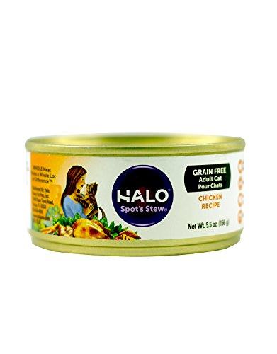 Halo Spot's Stew Cat Chicken Recipe - 12 x 5.5 oz