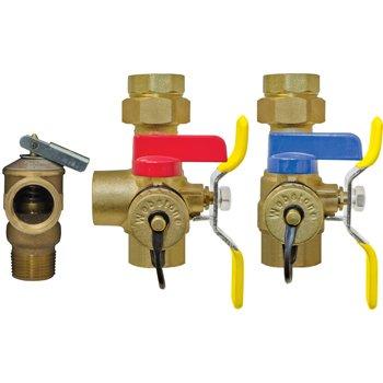 "Webstone 44444PR3 1"" Tankless Water Heater Service Valve ..."