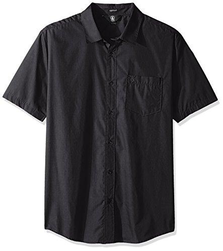 volcom-mens-everett-solid-cotton-woven-short-sleeve-shirt-asphalt-black-medium