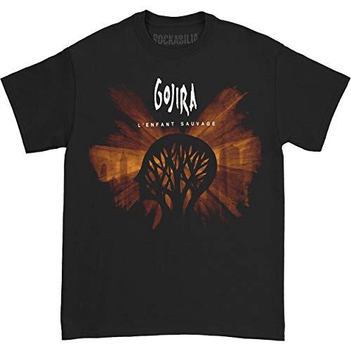 Gojira Men's L'Enfant Sauvage T-shirt Large Black