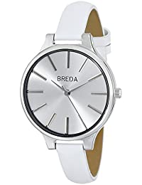 Women's 1650F Watch with White Genuine Leather Band